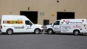 Ace Service Trucks on their way to help you